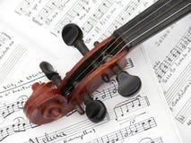De Viool van de Stradivarius Royalty-vrije Stock Afbeeldingen