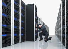 De virtuele dienst stock foto's