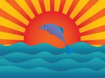 De vissen stock illustratie