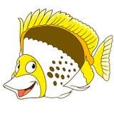 De vissen van de beeldverhaalvlinder stock illustratie
