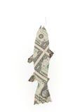 De vissen van de dollar vector illustratie