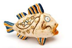 De vissen van de keramiek stock foto