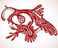 De vissen van de tatoegering. Stock Afbeeldingen