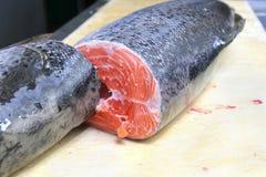 De vissen van de zalm stock afbeeldingen
