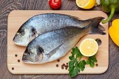De vissen van Dorado Stock Afbeeldingen