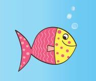 De Vissen van het beeldverhaal stock illustratie