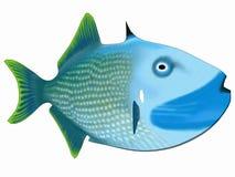 De vissen van het beeldverhaal Stock Foto