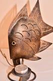 De Vissen van het brons Stock Afbeeldingen