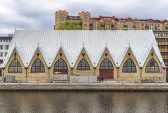 De Vissenmarkt van Gothenburg stock foto