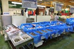 De vissenmarkt van Londen Stock Afbeelding