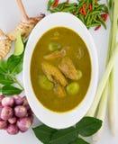 De vissenorganen verzuren soep, Thais voedsel Royalty-vrije Stock Fotografie