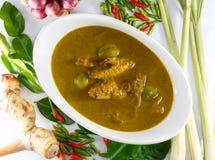 De vissenorganen verzuren soep, Thais voedsel Royalty-vrije Stock Afbeelding