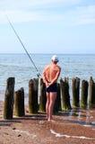 De visser Royalty-vrije Stock Afbeelding