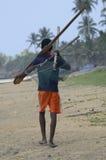 De visser van Srilankan Stock Foto