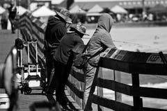 De visserij van de Pijler Royalty-vrije Stock Foto's