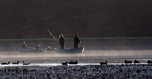 De visserij van de vlieg royalty-vrije stock foto