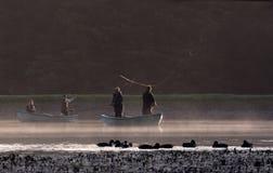 De visserij van de vlieg Royalty-vrije Stock Fotografie