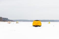 De visserij van de winter Stock Afbeeldingen