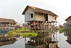 De visserij van dorp Royalty-vrije Stock Afbeeldingen