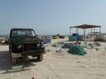 De visserij van Dorp Oman Stock Fotografie