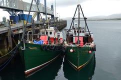 De visserij van haven van Stromness, de second-most dichtbevolkte stad in Vasteland Orkney, Schotland royalty-vrije stock afbeeldingen