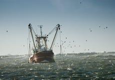 De visserij van schip Stock Afbeelding