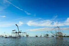 De visserij van Thailand Royalty-vrije Stock Fotografie
