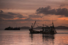 De visserij van Thailand Stock Fotografie