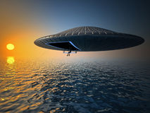 De visserij van Ufo stock foto's
