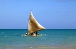 De visserij van vlot Maceio Alagoas Brazilië Stock Fotografie