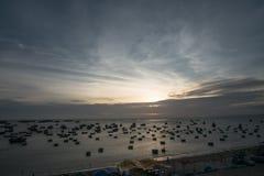 De visserijdorp van Ne van Mui Royalty-vrije Stock Fotografie