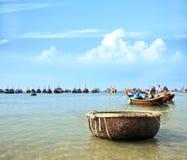 De visserijdorp van Ne van Mui royalty-vrije stock afbeelding