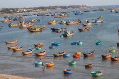 De visserijdorp van Ne van Mui Royalty-vrije Stock Afbeeldingen