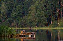 De visserijpijler Royalty-vrije Stock Foto's