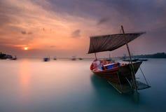 De vissersboot royalty-vrije stock fotografie