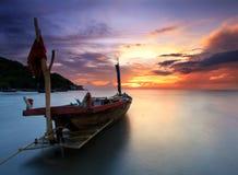 De vissersboot royalty-vrije stock foto