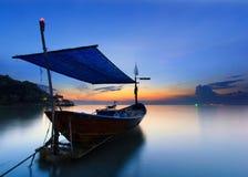 De vissersboot royalty-vrije stock foto's