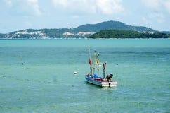 De vissersboot Royalty-vrije Stock Afbeeldingen