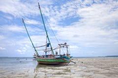 De Vissersboot Indonesië van Karimunjawa Stock Fotografie