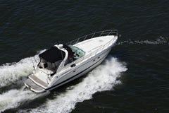 De Vissersboot van de luxesport royalty-vrije stock foto