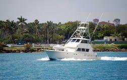 De Vissersboot van de sport Stock Afbeelding