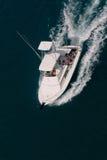 De vissersboot van de sport Stock Foto