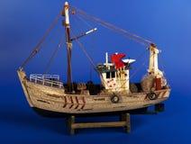 De vissersboot van het stuk speelgoed Royalty-vrije Stock Afbeelding