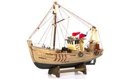 De vissersboot van het stuk speelgoed Royalty-vrije Stock Foto