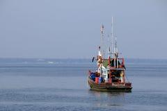 De vissersboot van Thailand Stock Foto