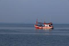 De vissersboot van Thailand Royalty-vrije Stock Afbeeldingen