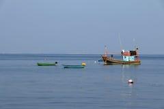 De vissersboot van Thailand Stock Fotografie