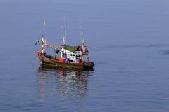 De vissersboot van Thailand Stock Foto's