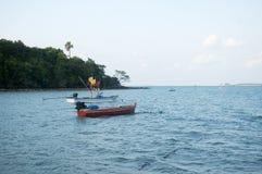 De vissersboten Royalty-vrije Stock Afbeelding