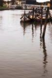 De vissersboten van Aveiro Stock Fotografie